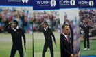 Seve Ballesteros posters at the Open