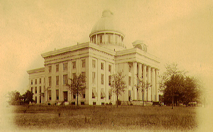 photo of Capitol in Montgomery, ca. 1890
