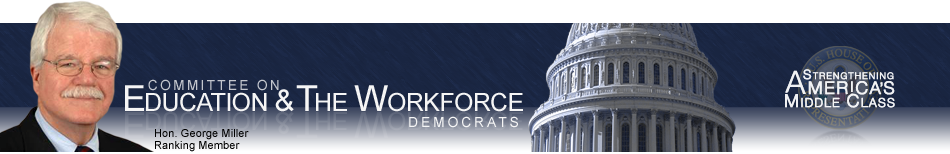 Committee on Education and the Workforce, Democrats