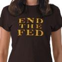 END THE FED Ladies T-Shirt shirt