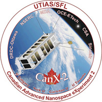 [CanX-2 Mission Patch]