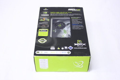 XFX 8800GT Alpha Dog XXX Box