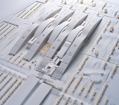 NATO Headquarters, Brussels – Winning competition design by Michel Mossessian as SOM Design Director.