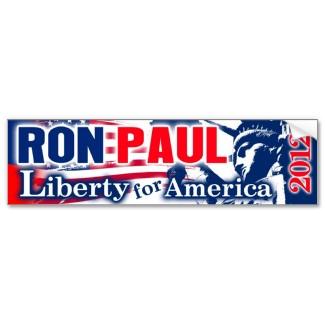 Ron Paul Bumper Sticker bumpersticker