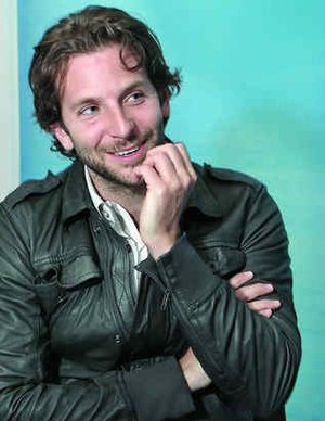 """Bradley Cooper has his name above the title on """"The Hangover,"""" and his next role is in a Julia Roberts movie. But he still has his Philly accent."""