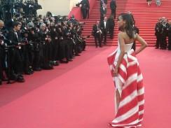Zoe Saldana   Cannes Film Festival
