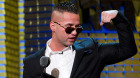 Michael 'The Situation' Sorrentino appears onstage at the Comedy Central Roast of Donald Trump in New York. in March, 2011.