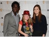 13-year-old Leah Cooper from Essex won the CBBC me and my movie award in association with BAFTA, for her short film 'The Prank'. The Award was presented by Blue Peter's Andy Akinwolere and Harry Potter star Bonnie Wright.