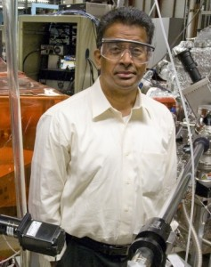 Ramamoorthy Ramesh, faculty scientist with Berkeley Lab's Materials Sciences Division. (Photo by Roy Kaltschmidt, Berkeley Lab Public Affairs.)