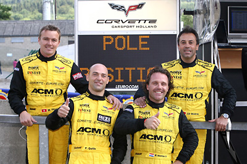 Corvette in FIA GT1 series with strong two car team