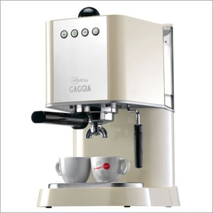 New Baby Semi-Automatic Espresso Machine - Ivory