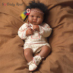 Dolls-Sandy Faber Baby Raven Wing Lifelike Doll