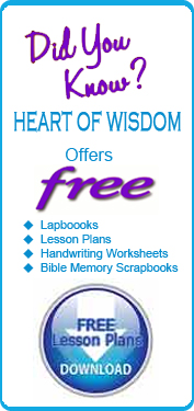 Free lapboooks, worksheets, Bible lessons