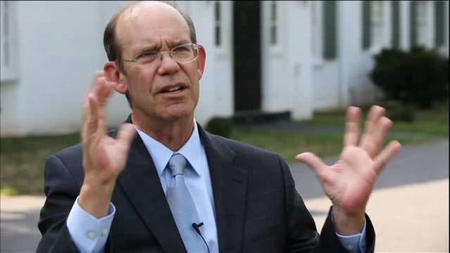 David Eisenhower Sees New `Military-Industrial Complex'