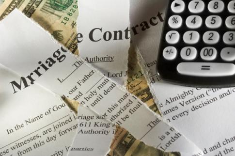 financial divorce