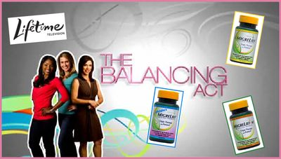 Lifetime TV Balencing Act Migraine Feature Graphic Art 061511
