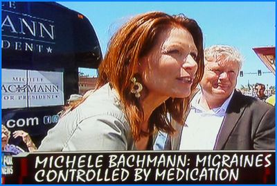 Michele Bachmann Illustration TV Shot 2