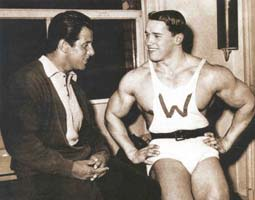 Reg With A Young Arnold