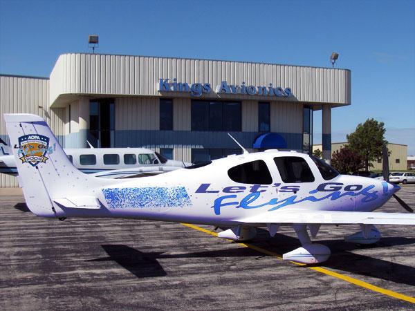 Kings Avionics Shop - Let's Go Flying AOPA 2009 Sweepstakes Plane