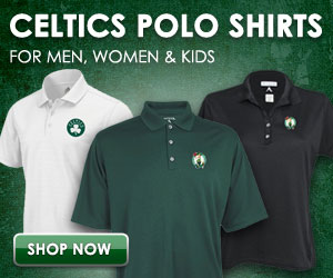 Celtics Polo shirts for men, women and kids.