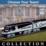 Pick Your Team! Major League Baseball Train - Perfect Fathers Day Gift for Dad! Choose His Favorite Baseball Team for the MLB® Express Train Collection!