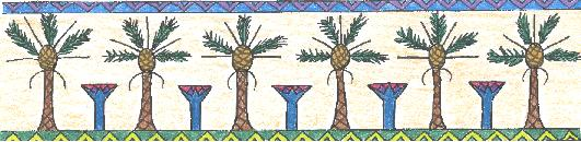 Palm and papyrus bar