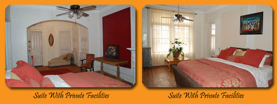 Suite with Private Facilities