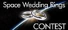 Space Wedding Rings