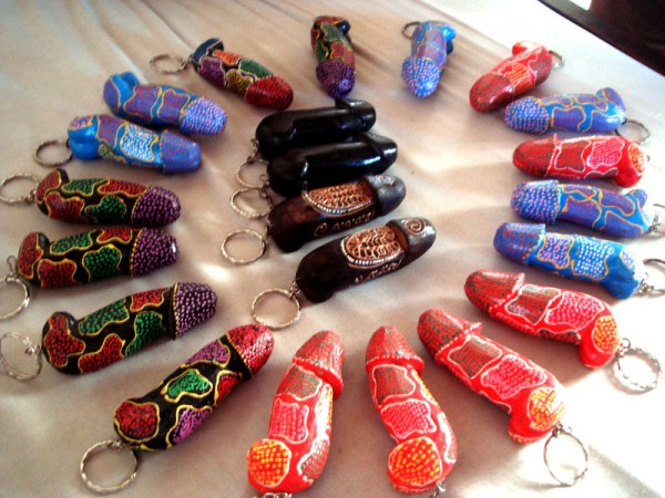 The Bali Dick Keychains