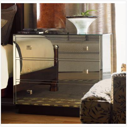 Mirrored Chest of Drawers - Dresser