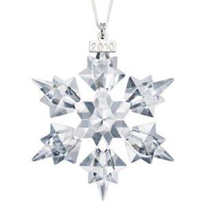 Swarovski 2010 Annual Crystal Snowflake Ornament