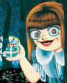 Kurumi from Kanako Inuki's Presents, published by CMX Manga