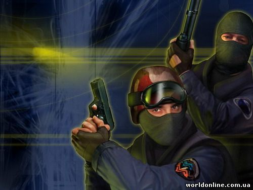 Counter-Strike 1.6 (чистая, стандартная версия)