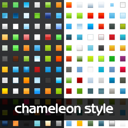 Chameleon Photoshop Style