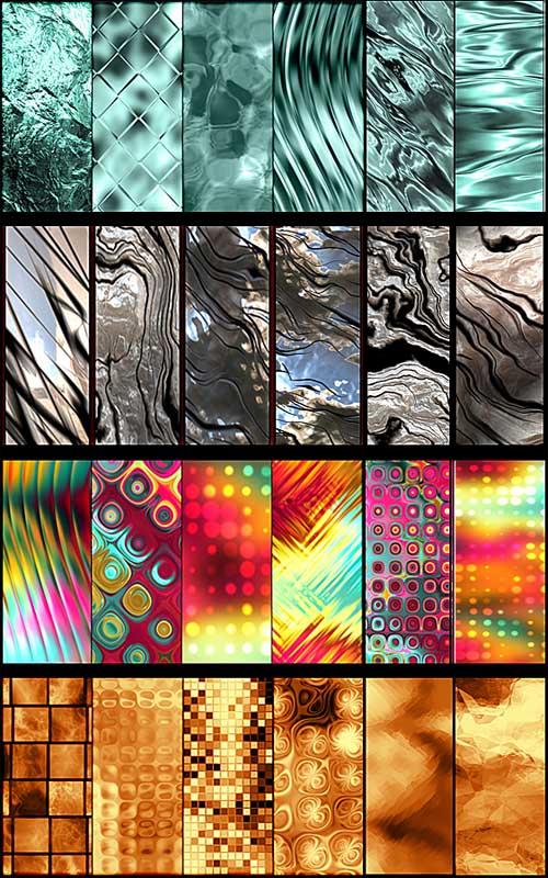24 бесшовные текстуры (Patterns)