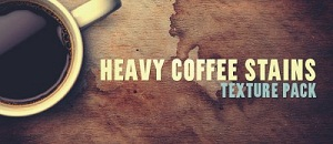 Текстуры: кофейные пятна