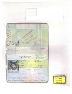Saudi arabian passport in the name of satam suqami found at the world trade center after the collapse of the buildings