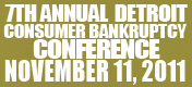 Detroit Consumer Bankruptcy Conference