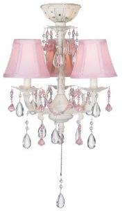 Pink Ceiling Light