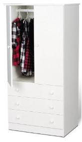 White Childrens Wardrobe