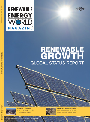 ISSUE COVER IMAGE: About Renewable Energy World