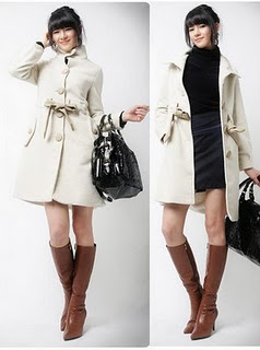 Hot coats for cold winters
