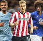 Saturday stars: Manchester City, Sunderland and Everton are in action