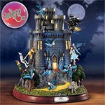 Wizard of Oz Wicked Witchs Castle Collectible Figurine - Wizard of Oz Wicked Witch Castle Figurine Features Lights, Sound and Motion an Exclusive, Unique Halloween Decoration!
