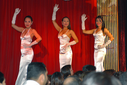 bangkok ladyboy show - Grey is taking a leave…