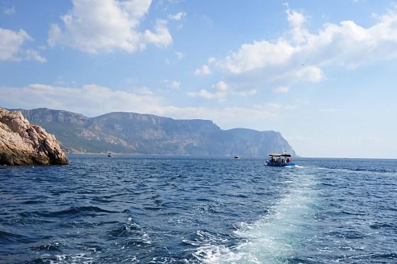 The Black Sea  Balaklava Crimea, Ukraine photo