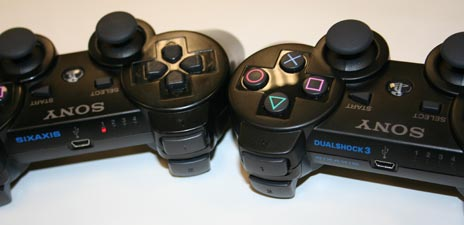 They look the same, but once you hold the DualShock 3, there's no going back.