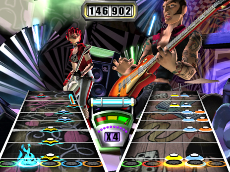 PROTIP: Remember that both guitarists have to activate Star Power at the same time in cooperative mode or it won't work. So coordinate your rock moves beforehand!