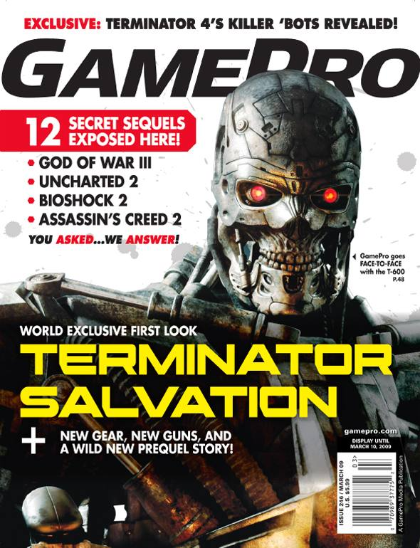 GamePro's Terminator Salvation cover story revealed