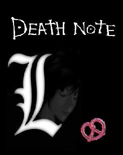 Death Note sprei